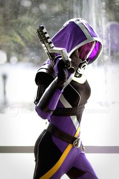 Tali (Mass Effect), cosplayed by magpielaughs, photographed by Minty and Minty