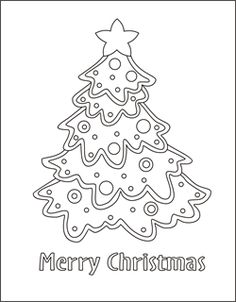 christmas coloring cards for kids printable free coloring cards christmas tree christmas coloring