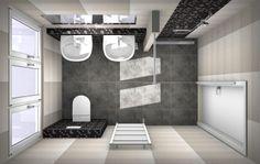 66 best 3D badkamer ontwerpen images on Pinterest | Fashion showroom ...