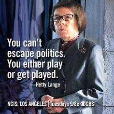 #NCISLA - #HenriettaLange #Hetty