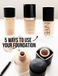 Foundation is actually one of my favourite products to purchase, I don't know what it is but a new base product always just makes me happy. Did you know that foundation, as boring as it is to purchase