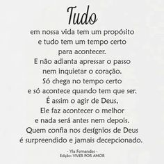 Motivational Phrases, Inspirational Quotes, Portuguese Quotes, Just Believe, Jesus Loves Me, Osho, God Is Good, Spiritual Quotes, Sentences