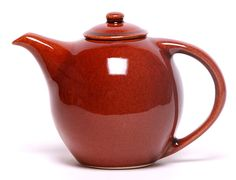 Our Copper Clay Teapot is part of our Copper Clay Pottery Collection. Gleaming with cozy brightness, our Copper Clay Teapot sets a happy mood at tea time. Teapots And Cups, Ceramic Teapots, Ceramic Pottery, Teacups, Porcelain Dinnerware, Porcelain Ceramics, Painted Porcelain, Fine Porcelain, Potters Clay