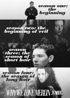 it's true but you forgot season five: the season of Colin's cheekbones.
