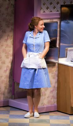 broadwayreprise — Jessie Mueller in Waitress Broadway Costumes, Theatre Costumes, Diy Costumes, Halloween Costumes, Broadway Theatre, Musical Theatre, Broadway Party, Waitress Musical, Waitress Outfit
