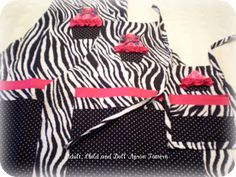 Free Apron Tutorial- doll child and adult sizes