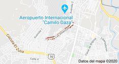Mapa de Las Américas, Cúcuta, Norte de Santander Maps, International Airport, Norte