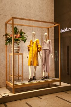 "MAXMARA,Milan,Italy, ""Samantha...I don't make proper flower arrangements;mine just grow,like the garden"", pinned by Ton van der Veer"