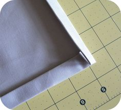 How to sew a mitred corner without a trim