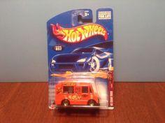 Hot Wheels Ice Cream Truck #57 Wild Frontier #3 of 4 2002 Orange Food Truck #HotWheels