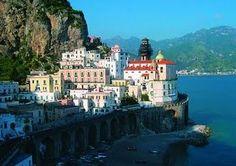 "Amalfi Coast, one of my top ""travel to Italy"" picks"
