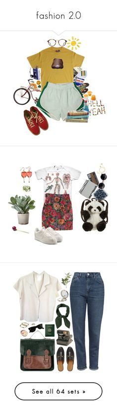 """""""fashion 2.0"""" by moonmalt ❤ liked on Polyvore featuring art, vintage, Paperchase, Panda, NIKE, Torre & Tagus, Happy Plugs, couples, agnès b. and Chloé"""
