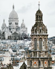 Aligned #sacrecoeur #paris