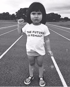 The Future is Female Tees | Darling Clementine