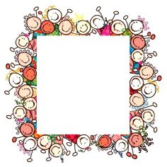 Children`s day homework Borders For Paper, Borders And Frames, Background Pictures, Paper Background, Page Borders, Cute Clipart, Santa Letter, Writing Paper, Printable Coloring