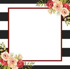 Happy Birthday Frame, Birthday Frames, Ramadan Quran, Flower Frame, Clipart, Backdrops, Scrapbook, Watercolor, Wallpaper