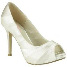 I would have to bling them out, but they could work.  Amazon.com: Pink Pretty Bridal Shoes: Shoes