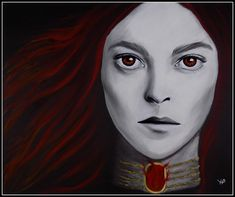 Melisandre (art by Anastasia Ribozeeva)