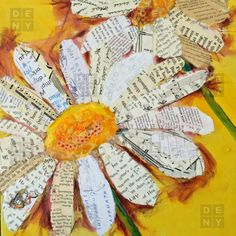 Elizabeth St Hilaire Nelson. Each petal a different part of a story