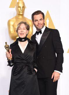 Chris Pine Photos - 87th Annual Academy Awards Press Room