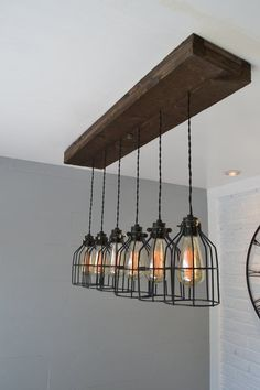 Illuminate your home with the rustic charm of the Vineyard 6-light ...