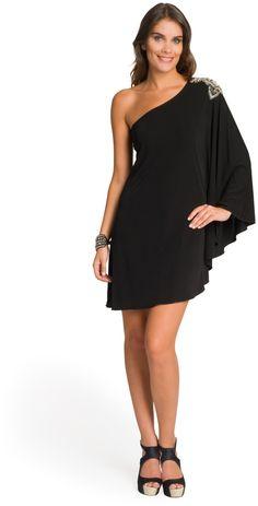 Haute Hippie Winged Embellished Shoulder  Dress on shopstyle.com