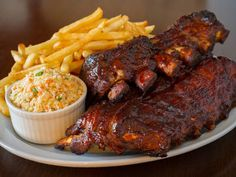 These barbecue pork ribs will melt in your mouth! It doesn�t need to be summer to enjoy these chewy ribs!