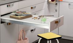 1000 ideas about table escamotable on pinterest ilot - Petite table de cuisine escamotable ...