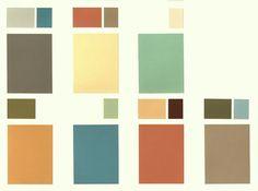Kleurstellingen uit de jaren 30