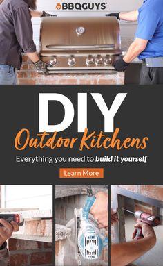 Build Outdoor Kitchen, Outdoor Kitchen Design, Outdoor Kitchens, Madison Square Garden, Minecraft Interior Design, Dubai Miracle Garden, Magic Garden, Bbq Island, Olive Garden