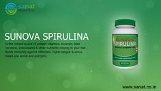 Add #Spirulina in your regular diet and fell energetic for whole day.