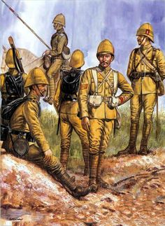 British Royal Rifle Corp, Boer War