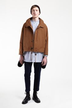 cropped - Carven | L'Homme | Hiver 2012
