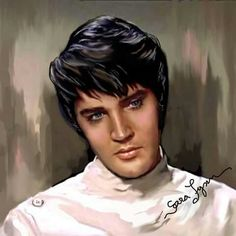 "( 2015 IN MEMORY OF † ♪♫♪♪ ELVIS PRESLEY ""Elvis art by Sara Lynn Sanders"". ) † ♪♫♪♪ Elvis Aaron Presley - Tuesday, January 08, 1935 - 5' 11¾"" - Tupelo, Mississippi, USA. Died; Tuesday, August 16, 1977 (aged of 42) Memphis, Tennessee, U.S. Resting place Graceland, Memphis, Tennessee, U.S. Education. L.C. Humes High School Occupation Singer, actor Home town Memphis, Tennessee, USA. Cause of death: (cardiac arrhythmia)."