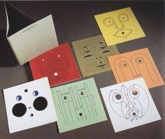 tervezőgrafika történet: Bruno Munari, Guardiamoci negli occhi - Look into my eyes, 1970