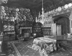 Vladimir Palace (?) in Saint Petersburg - interior view of dining room Source text as ' Palace of Maria Pavlovna' (Marie Antoinette, Dutchess of Mecklenburg-Schwerin, *1854-1920+) - 1910 - Photographer: Karl Bulla - Published by: 'Die Dame' 04/19http://www.gettyimages.com/detail/news-photo/vladimir-palace-in-saint-petersburg-interior-view-of-dining-news-photo/548802829#russian-empire-vladimir-palace-in-saint-petersburg-interior-view-of-picture-id54880282913 /