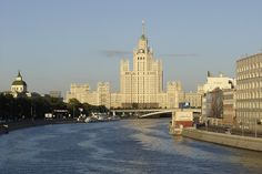 Moscow's Hotel Ukraina - an incredible building across from the Russian White House.