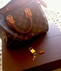 d391f34eb609 LV PADLOCK Lock Key Set Authentic Fits Bag by KimberlyHahn