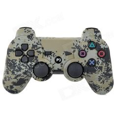 Magnetic4 PS3 Dualshock 3 Wireless Controller black Sixaxis Bluetooth Controller für PlayStation 3 -
