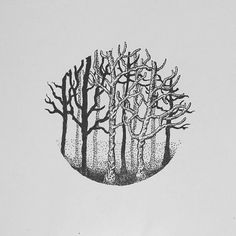 Dead trees  #trees #deadtrees #practice #pointillism #dotwork #doodle #doodleart #doodleartindonesia #draw #drawing #sketch #sketching #ink #illustration #art #artwork