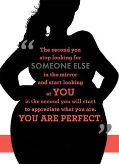 Body positive quotes, positive body image, fat positive, love my body, lovi Fat Positive, Body Positive Quotes, Positive Body Image, Curvy Quotes, No Ordinary Girl, Love My Body, Body Shaming, Body Confidence, You Are Perfect