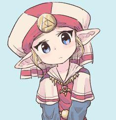 It's me, Zelda! Well, younger me anyways. :)
