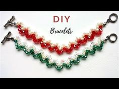 DIY Christmas gifts. Beading ideas for DIY Jewelry - YouTube
