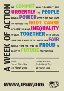 World Social Work Day 2012, from the International Federation of Social Workers