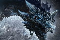 So The Night King Has A Dragon Now #GoT #dragon #whitewalker #season7
