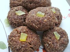 Ginger Chocolate Macaroons (Pareve)