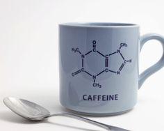 Caffeine coffee mug for the biochemistry nerd in me.