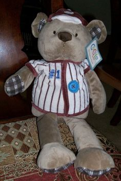 CoCaLo Baby Sports Fan Plush Bear