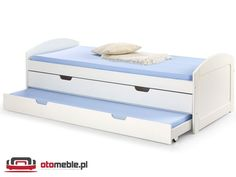 Łóżko wysuwane dwuosobowe - H260