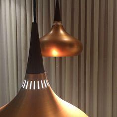 """#lucdesign goes shopping #Lucdoessydney Orient light  @lightyearsdk @cultdesignau #lights #lighting #copper"""